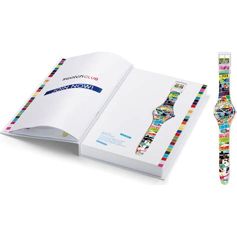Swatch E orologio swatch speciali suoz170 special white loop