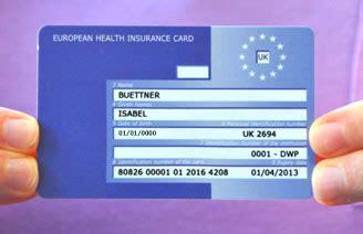 ehic european health insurance card keele university
