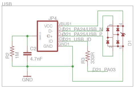 tvs diodes usb usb pcb schematic pcb hardware elsavadorla