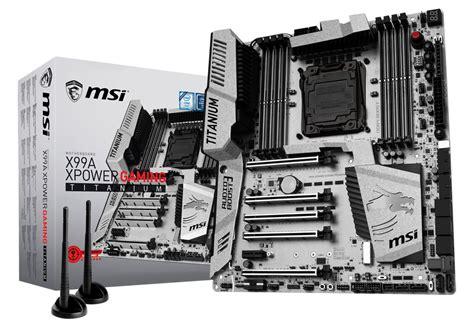 Msi X99a Xpower Gaming Titanium Intel Socket 2011v3 x99a xpower gaming titanium msi マザーボード intel x99チップセット 株式会社アスク