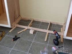 Standard Height Of Kitchen Cabinets how to make cabinet toe kicks stonehaven life