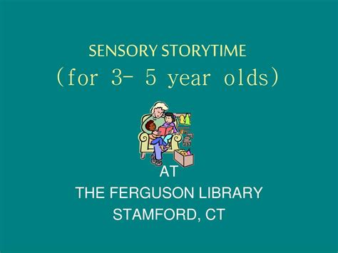 new year sensory story ppt sensory storytime for 3 5 year olds powerpoint