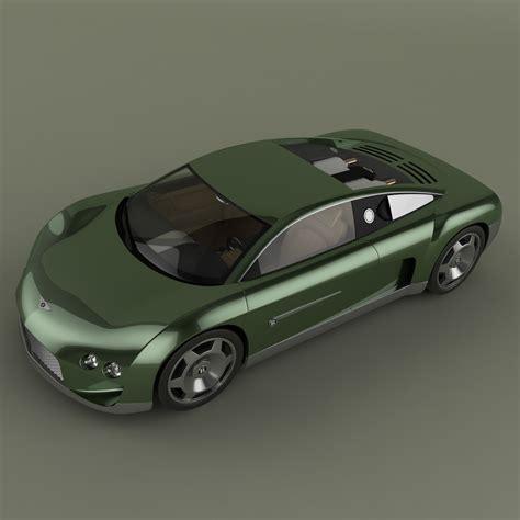 bentley hunaudieres bentley hunaudieres concept 3d model max obj 3ds