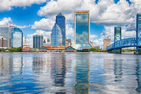 Search Jacksonville Fl Downtown Jacksonville Florida Jigsaw Puzzle In Bridges Puzzles On Thejigsawpuzzles