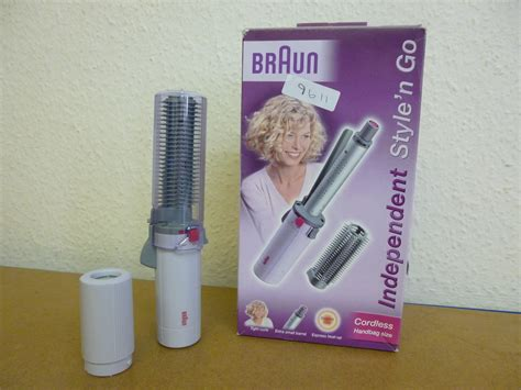 Braun Cordless Hair Dryer Uk braun independent style n go cordless hair styler