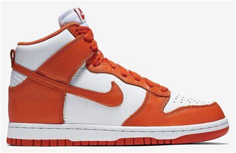 syracuse sneakers nike dunk high be true syracuse villanova sneaker bar