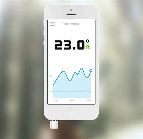 Termometer Mobil thermodo thermometer plugs into your iphone s headphone kickstarter iclarified