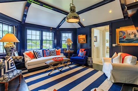 a colorful conversion new england home magazine a bold and colorful nantucket family compound new