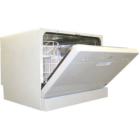 sunpentown countertop dishwasher white walmart