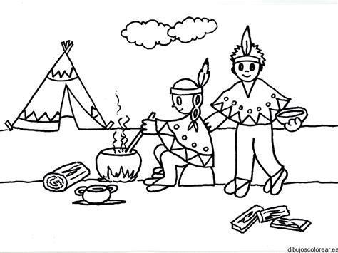dibujos para colorear de palabras indigenas grupo de ind 237 genas para colorear imagui