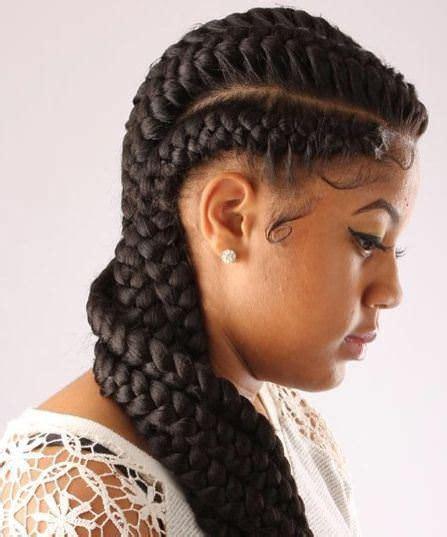 jumbo braids hairstyles for black women 20 classy braids for black women
