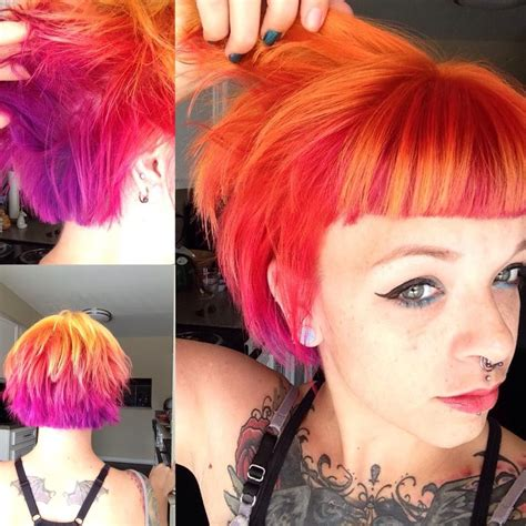 blood hair color orange hair stylenoted of blood orange hair color