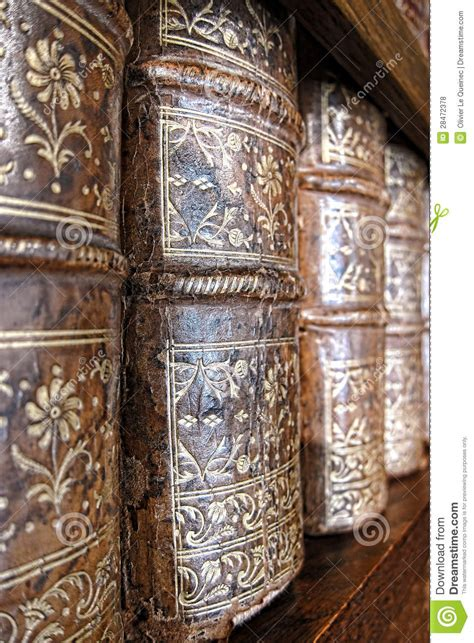 Old Leather Bound Books Spines On Library Shelf Royalty ... Free Clipart On The Web
