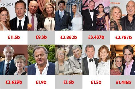see the top 10 richest top 10 uk richest couples see fortune rise by 163 3 4 billion