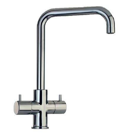 Paini Cox Quad Twin Lever U Spout Kitchen Mixer Tap