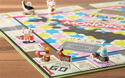japanese arts and crafts for the most beautiful version of monopoly yet celebrates