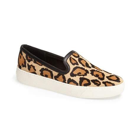 sam edelman leopard slip on sneakers sam edelman becker slip on sneakers rank style