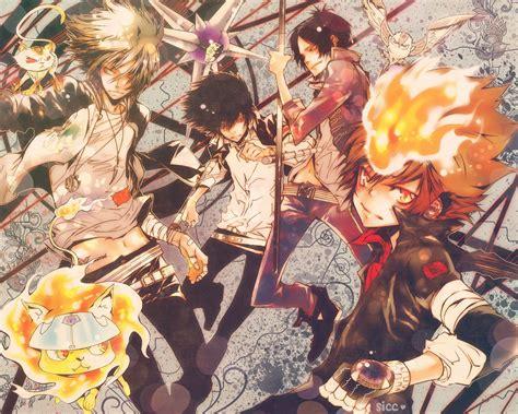 wallpaper anime reborn katekyō hitman reborn wallpaper and background