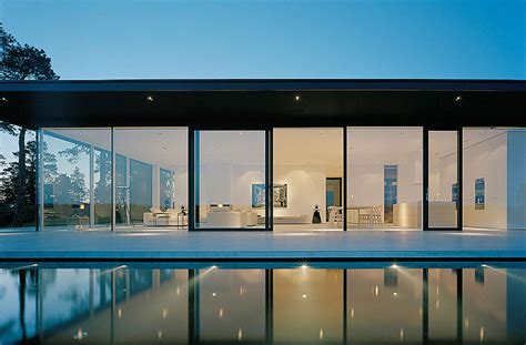 Glass Wall House Plans by Modern Lake House In Sweden Idesignarch Interior