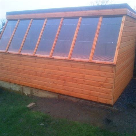 this 12x8 pent roof shed