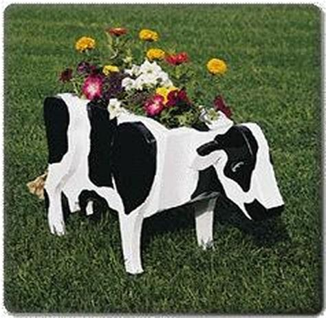 cow planter plans available from hobbies the uk s