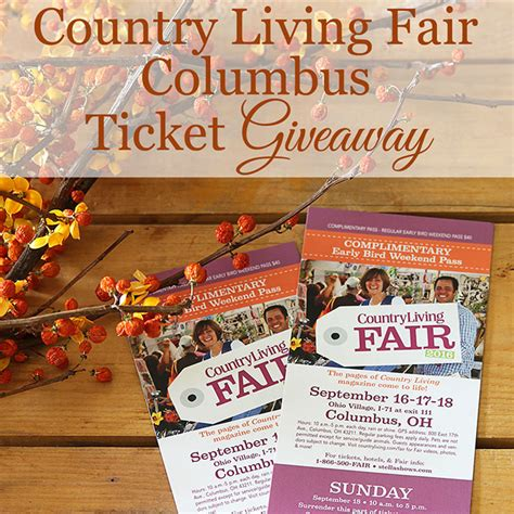 country living fair columbus and a giveaway house of hawthornes