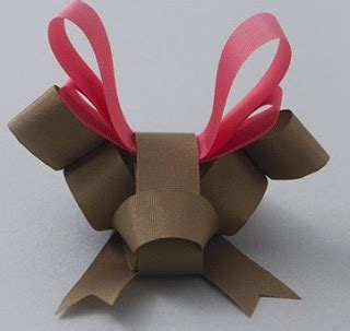Origami With Ribbon - amazing ribbon origami arts fashion
