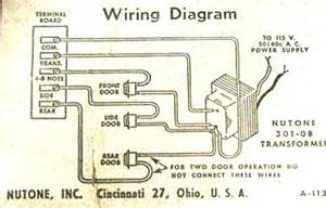 vintage door chimes power connections