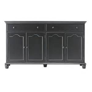 home decorators buffet home decorators collection harwick 2 drawer black buffet