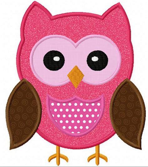 Free Applique Downloads by Instant Owl Applique Machine Embroidery Design No