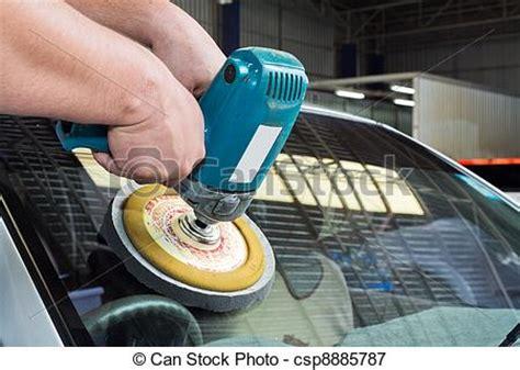 Auto Polieren Richtig Gemacht by Bilder Von Auto Glas Polieren Macht Puffer Maschine