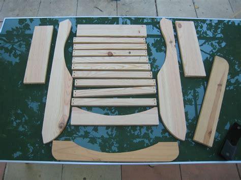fauteuil adirondack en pin cr 233 ations et bricolages d oli