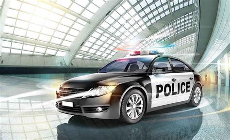 polizei wagen fototapete tapete polizei auto wagen bei europosters