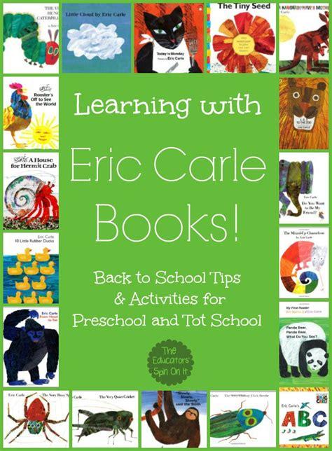 Eric Carle Printable Book Covers