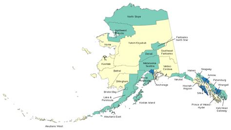 State Of Alaska Property Records List Of Boroughs And Census Areas In Alaska