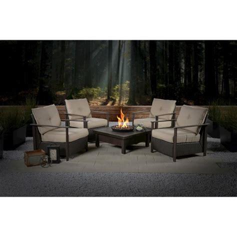 larkspur 4pk wicker patio chair set beige bond target