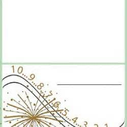 new years place cards place card template tip junkie