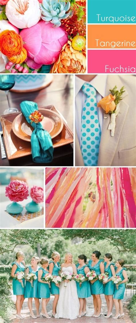 fun color schemes team wedding blog wedding color themes here are fun