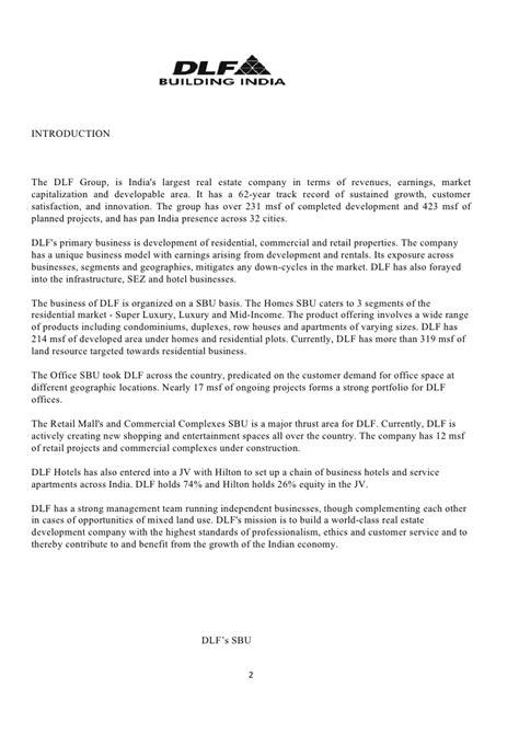Offer Letter Generator India Dlf Strategic Analysis