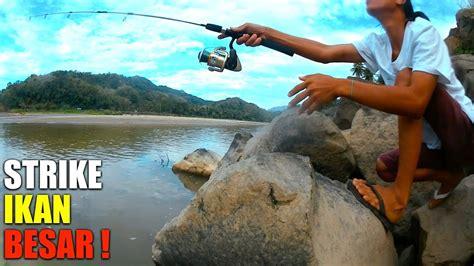 Pancing Biasa Luar Biasa Pancing Nyaris Patah Karna Strike Ikan Besar Doovi