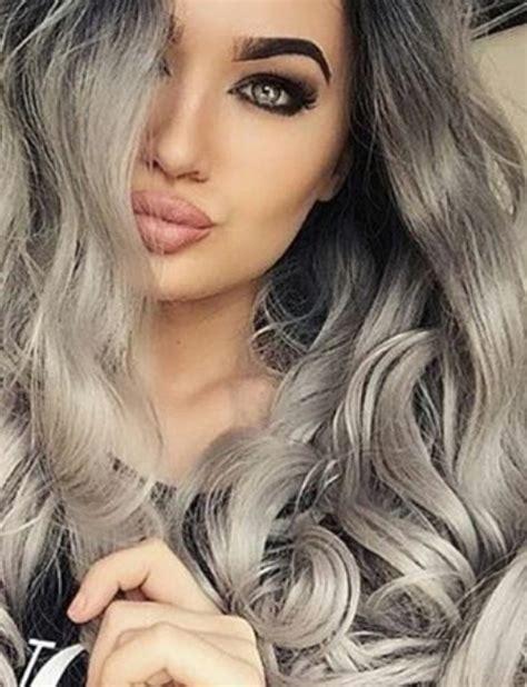 tintes de cabello color gris madaish el pelo gris arrasa en instagram