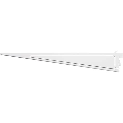 shelftrack white shelf bracket ebay