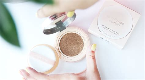 Etude Real Powder Cushion Refill etude house real powder cushion review giveaway liah yoo