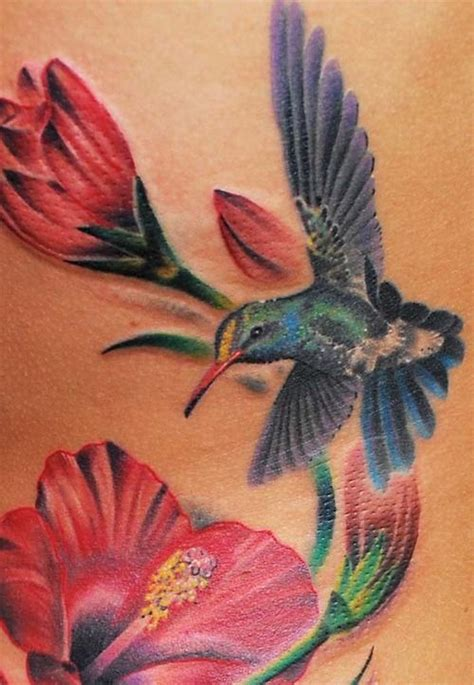 hummingbird with rose tattoos hummingbird search erin s