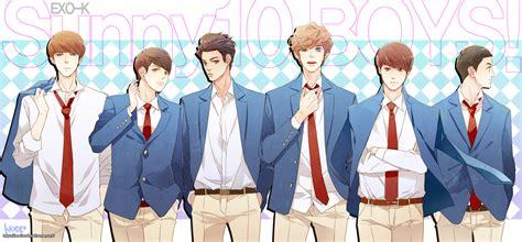 exo k zerochan anime image board