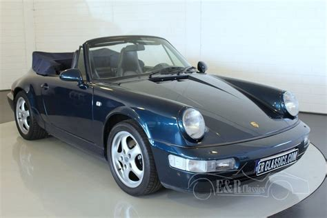 porsche 964 cabriolet for sale porsche 964 2 cabriolet 1991 for sale at erclassics
