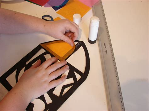 How To Make A Paper Window - make a stained glass window archaeologists club