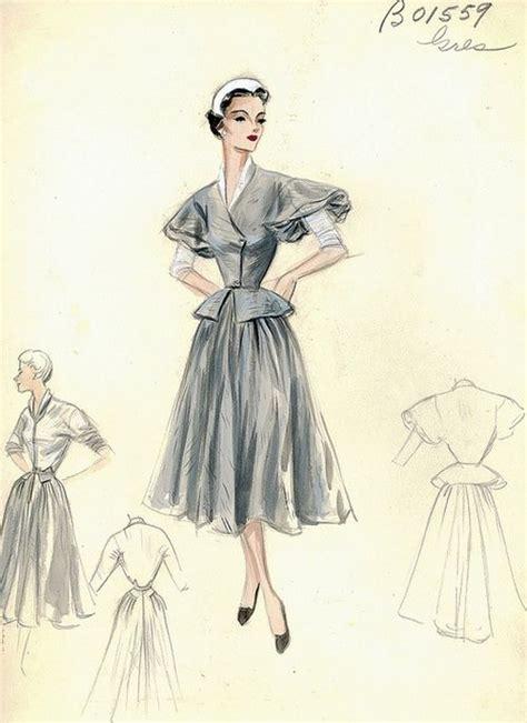 vintage sketch book fashion sketch vintage www pixshark images