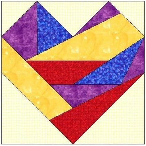 How To Make Paper Piecing Patterns - all stitches paper piecing quilt block