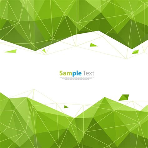abstract geometric design elements vector abstract geometry green background vector graphic free